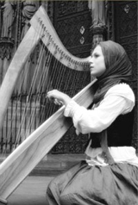 celtic harpist, international, musician, performer